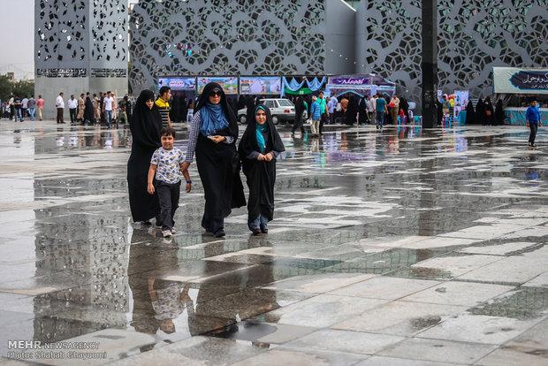 سيدات ايران تحتفل باليوم الوطني للعفاف والحجاب