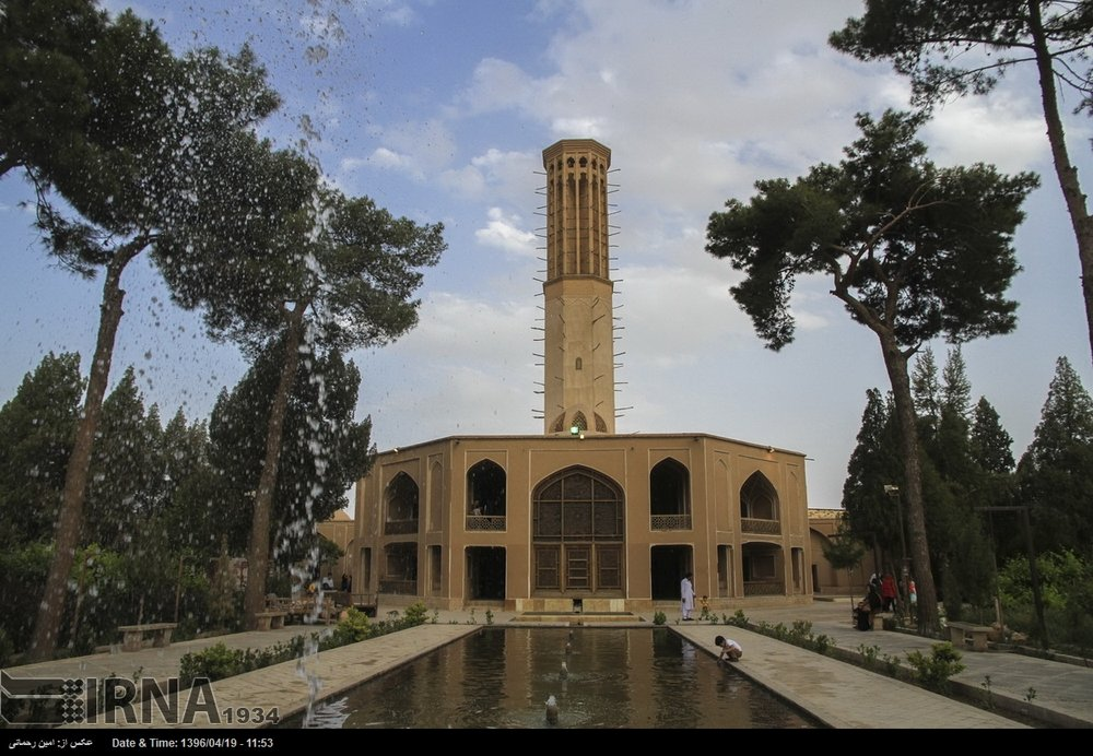 Bagh-e Dolat Abad, an epitome of Persian Garden