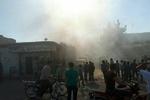حمله خمپاره ای تروریست ها به دبیرستان دخترانه در حلب