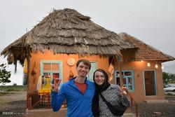 بازدید سایکل توریست های فرانسوی و آلمانی از اماکن گردشگری و مذهبی  آستارا