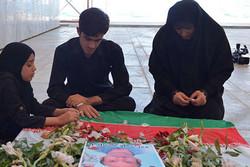 مراسم چهلمین روز شهادت شهید «مازیار سبز علی زاده» برگزار شد