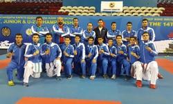 Iranian karate squad atop Astana games