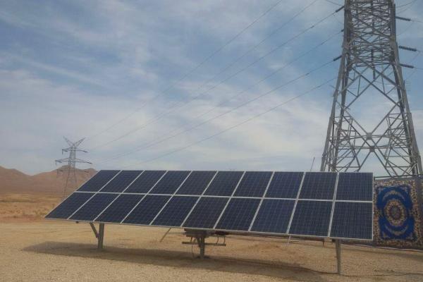بزرگترین مزرعه خورشیدی کشور در جاجرم کلنگ زنی شد