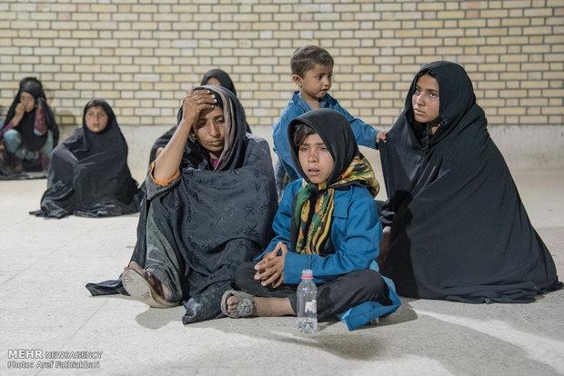 باندهای انتقال و توزیع کودکان کار در پایتخت/تهران به تصرف متکدیان