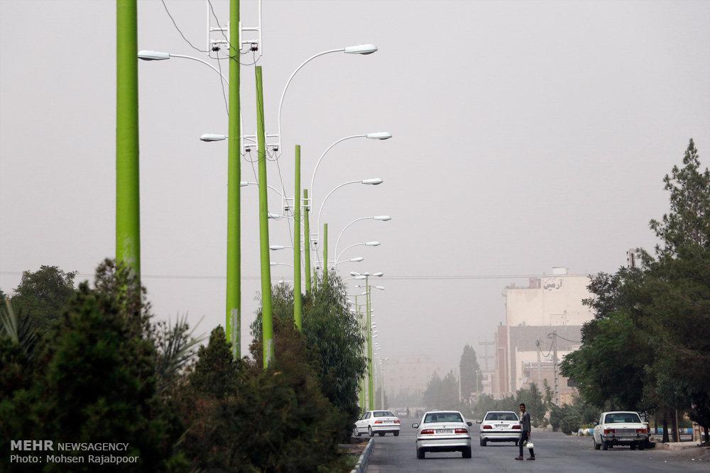 کرمان در محاصره ریزگردها