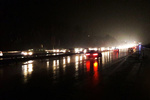 بارش باران در ارتفاعات کندوان/هشدار پلیس درباره لغزندگی جادهها