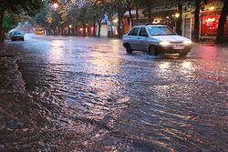 وقوع سیلاب در مناطق شمال تهران