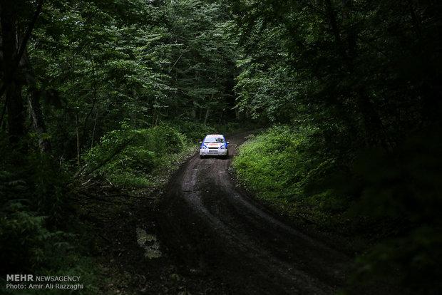 Iran's Rally Championship in Sari
