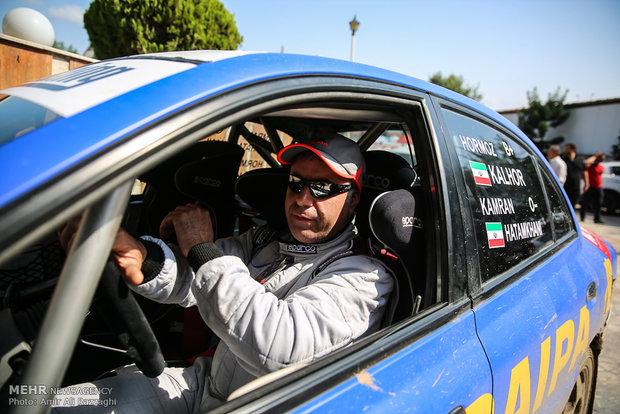 İran'da Ralli şampiyonası