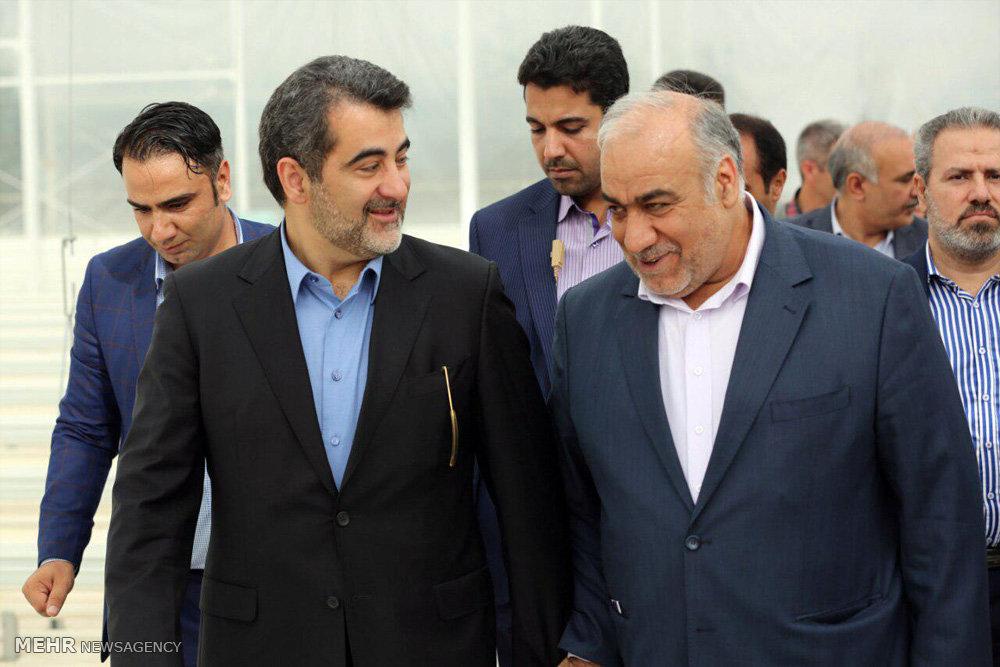 سفر عبدالرضا رحمانی فضلی وزیر کشور به لرستان