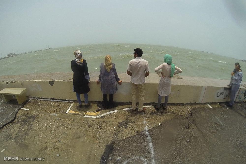 طوفان در خلیج فارس و دریای عمان