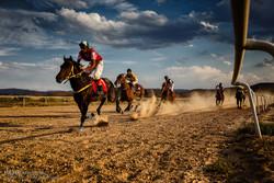 سباق الخيل في محافظة آذربيجان الشرقية شمال غرب إيران