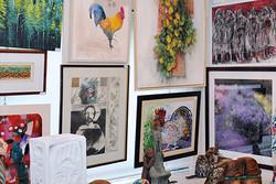 نمایش آثار ٢٥٧هنرمند در نمایشگاه «صد اثر صد هنرمند»