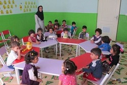 ۱۶۵باب مهد کودک شهری و روستائی در استان زنجان فعالیت می کنند