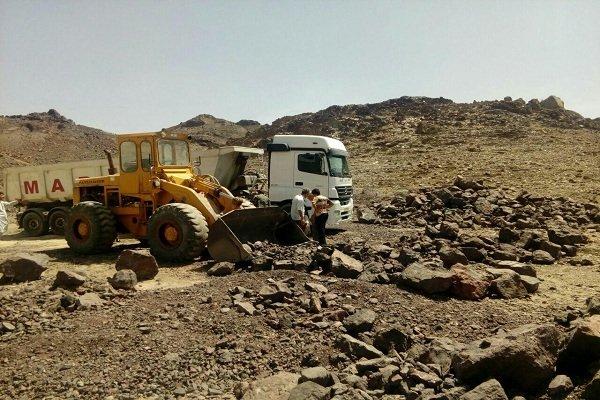 معدن منگنز «سید آباد» شهرستان مهرستان