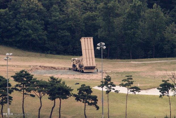 """منظومة """"ثاد"""" الصاروخية التابعة للجيش الامريكي"""