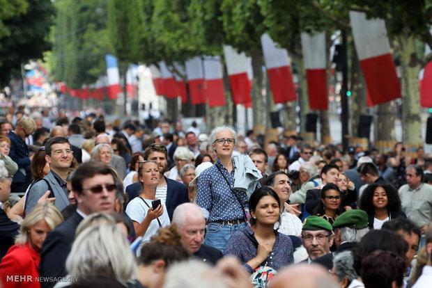 رژه روز باستیل در فرانسه