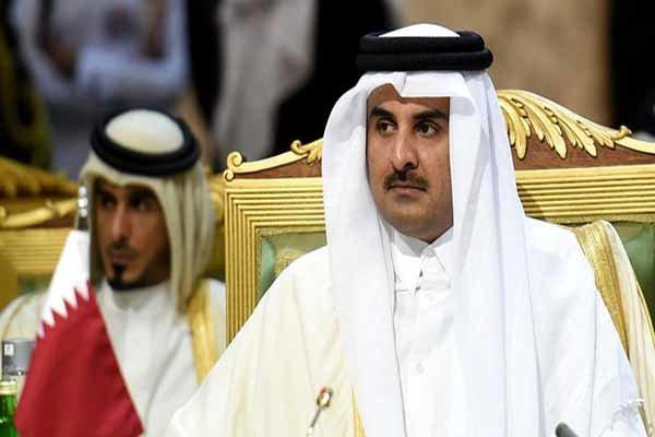 امیر قطر حادثه سقوط هواپیما در ایران را تسلیت گفت