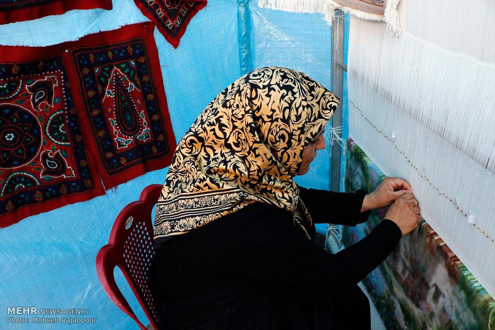 جشنواره روستای خیرآباد شهرستان زرند استان کرمان