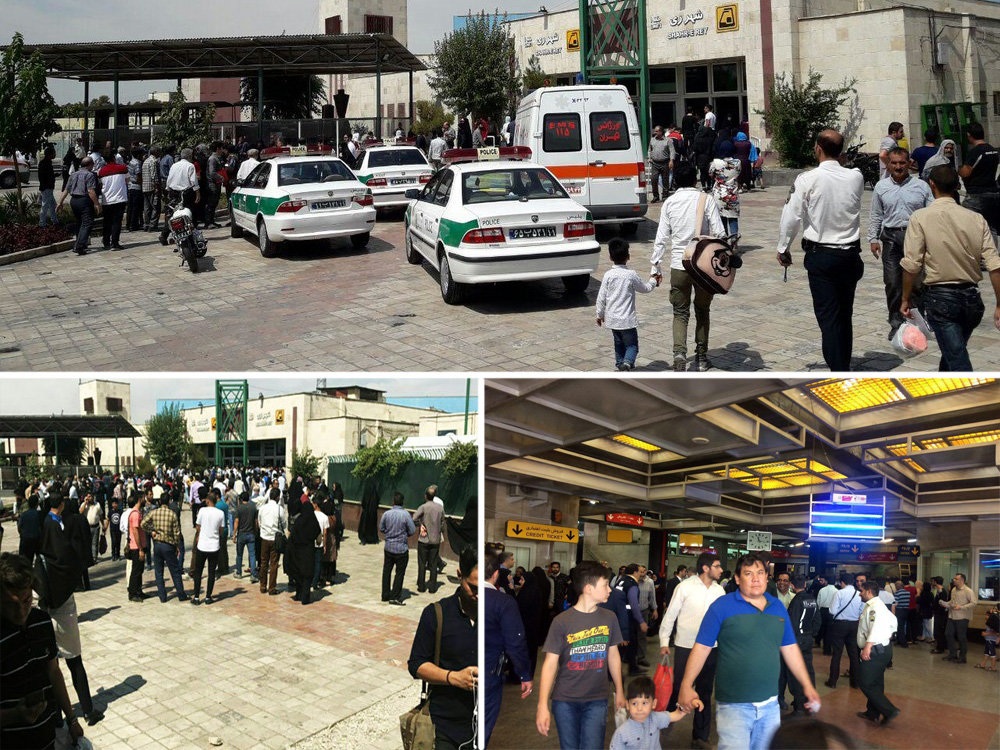 At least 15 passengers wounded in stab attack in Tehran metro