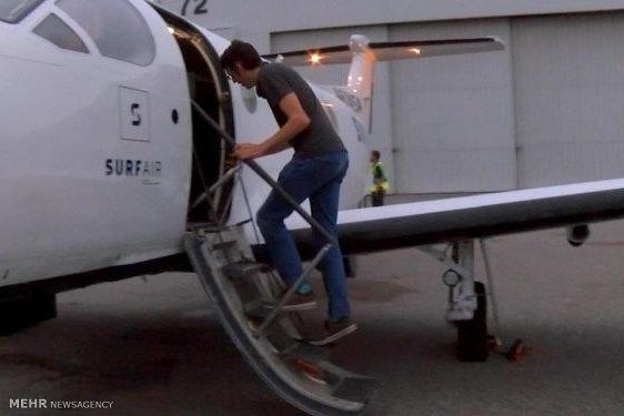 هواپیمایی برای سرکار رفتن!