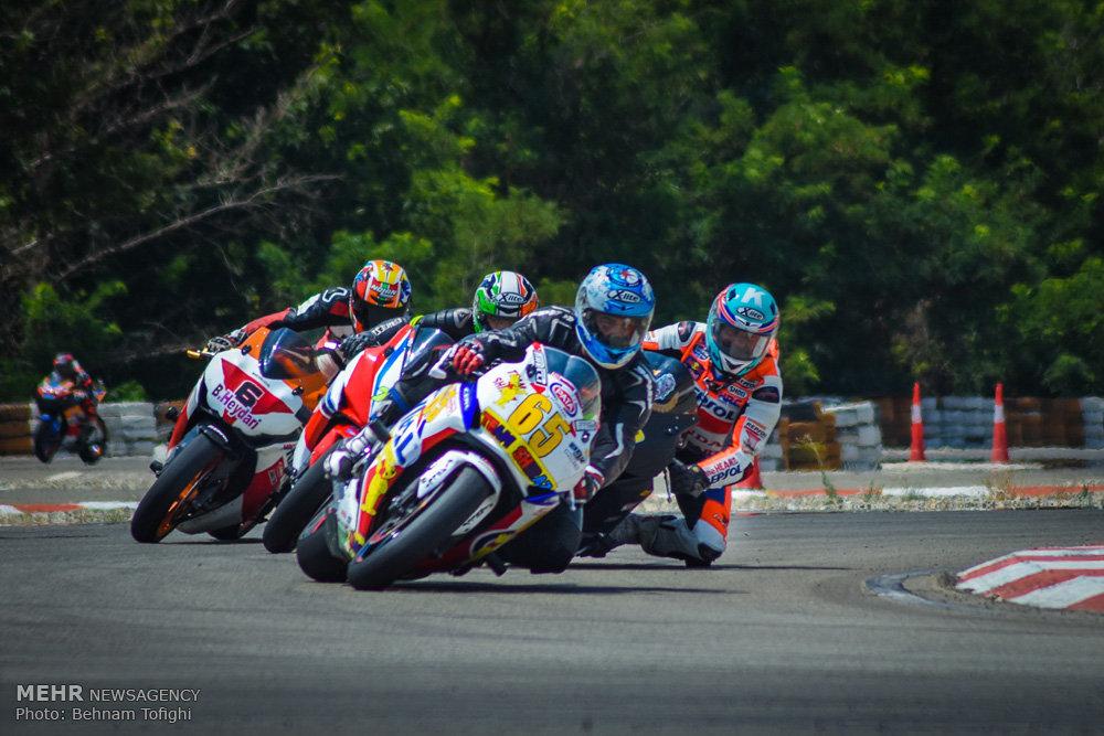 دومین راند از مسابقات سرعت موتورسواری قهرمانی کشور
