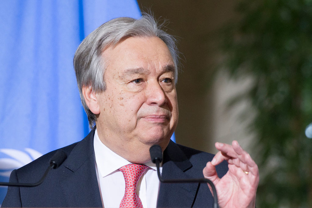 United Nations secretary-general issues 'red alert' for world ahead of 2018