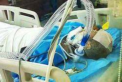 عیادت نماینده آیت الله مکارم شیرازی از روحانی مضروب در حادثه مترو