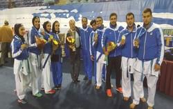 کسب نشان طلا توسط کارته کای ایلامی در رقابت های قهرمانی آسیا