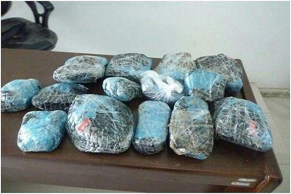 کشف ۵۰ کیلوگرم مواد مخدر در قزوین