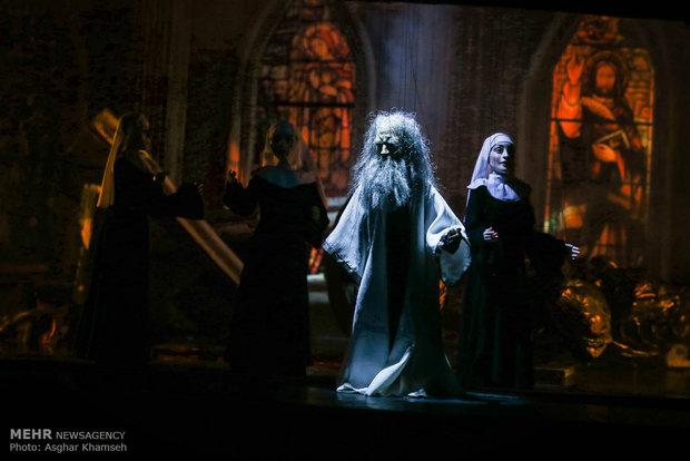 """مسرحية أوبرا العرائس """"الخيام"""" في العاصمة طهران"""
