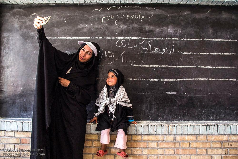 اردوی جهادی خواهران در روستاهای محروم صفی آباد اسفراین