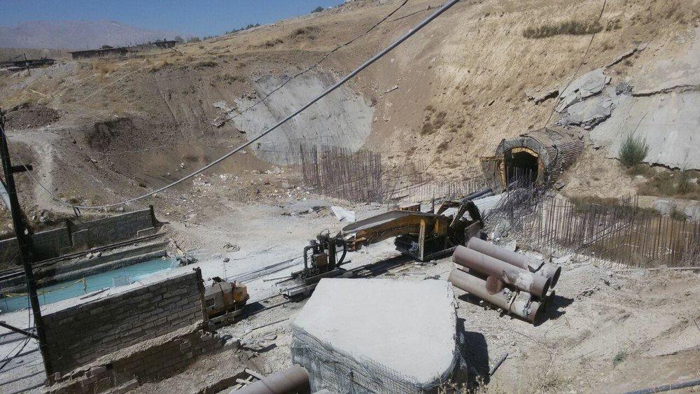 Risultati immagini per پروژه سد تونل سوم کوهرنگ