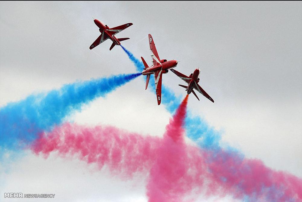 بزرگترین جشنواره نمایش هوایی نظامی جهان