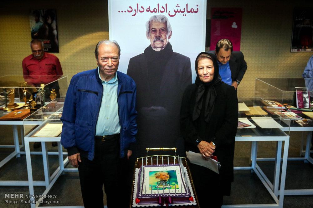 افتتاح نمایشگاه زنده یاد داوود رشیدی