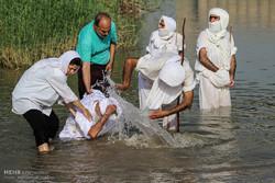 الصابئة المندائيون في ايران  يحتفلون برأس السنة المندائية /صور