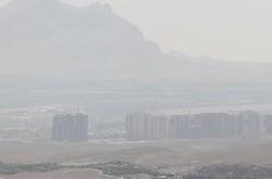 غبارآلود شدن هوا در نواحی مرزی کرمانشاه/سومار گرمترین نقطه استان