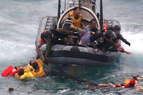 غرق شدن کشتی در کنگو