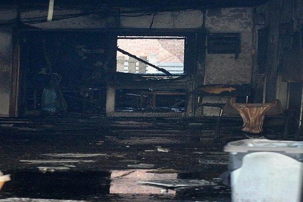آتش سوزی در مسجدی در منچستر