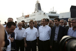 VP opens  7 projects in Kish Island