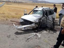 حادثه خونین رانندگی در محور بستان آباد- سراب با ۳ کشته و ۲ مجروح