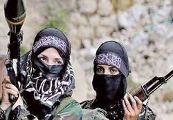 زنان داعشی