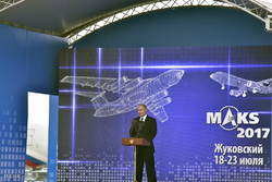 Russia's MAKS-2017 air show kicks off