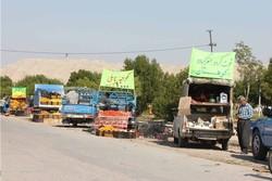 ممانعت از قرار دادن محصولات کشاورزی در حریم جاده ها