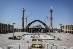 فخر معماری جهان بر بلندای آسمان/ نماز عید فطر ۹۷ در فضای داخلی مصلا