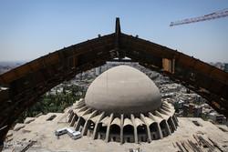أكبر قبة عالميا في العاصمة طهران