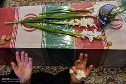 استقبال از پیکر سه شهید دفاع مقدس در مشهد