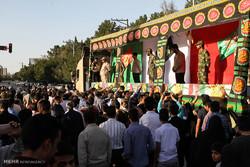 مراسم استقبال از دو شهید گمنام در خورموج برگزار شد