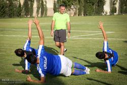 اولین تمرین استقلال پس از بازگشت از اردوی ارمنستان