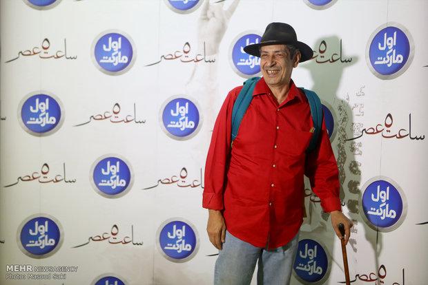 حضور نادر مشایخی، آهنگساز در مراسم اکران خصوصی فیلم سینمایی ساعت 5 عصر
